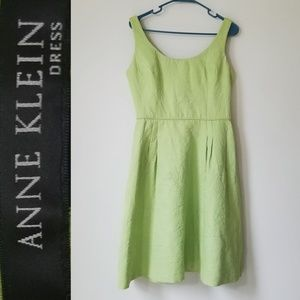 ANNE KLEIN Fit and Flare Sleeveless Dress